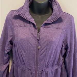 Inner Peace Lululemon Jacket In Concord Grape